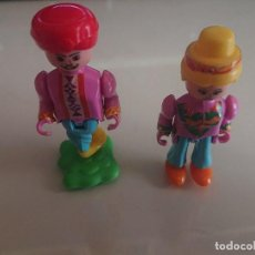 Figuras Kinder: LOTE DE 2 FIGURAS MIXTAS DE HUEVOS KINDER , LEER DESCRIPCION. Lote 186083635