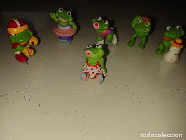 Figuras Kinder: Lote de 6 FIGURAS RANITAS DE HUEVOS KINDER , LEER DESCRIPCION - Foto 2 - 186083797