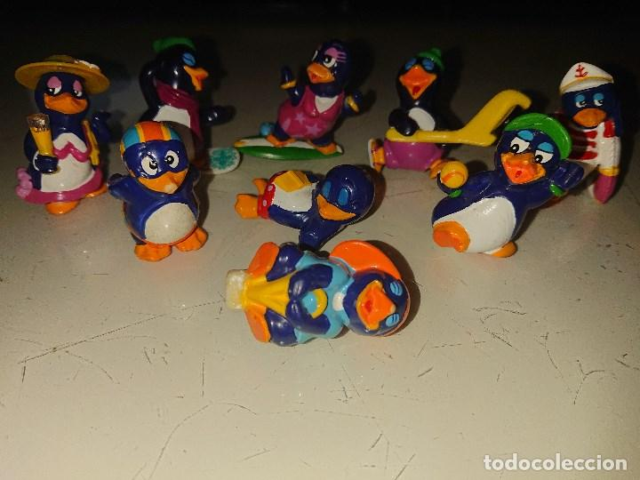 Figuras Kinder: Lote de 9 FIGURAS PINGUINOS DE HUEVOS KINDER, LEER DESCRIPCION - Foto 2 - 186083837