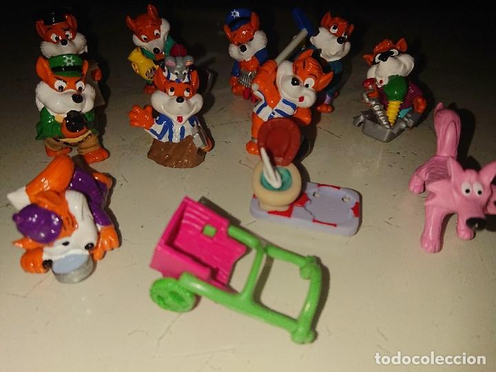 Figuras Kinder: Lote de 9 FIGURAS ZORROS DE HUEVOS KINDER, LEER DESCRIPCION - Foto 2 - 186083976