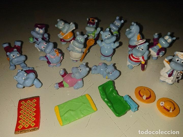 Figuras Kinder: Lote de 15 FIGURAS HAPPY HIPOS DE HUEVOS KINDER , LEER DESCRIPCION - Foto 2 - 186084058