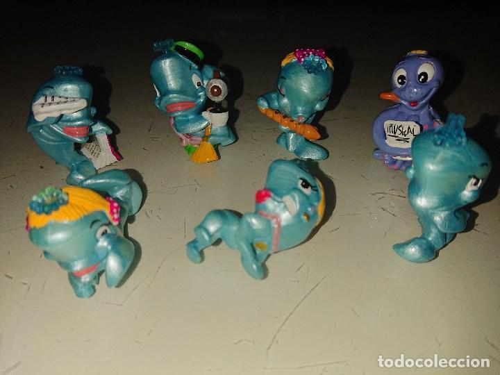 Figuras Kinder: Lote de 7 FIGURAS BALLENAS DE HUEVOS KINDER , LEER DESCRIPCION - Foto 2 - 186084112