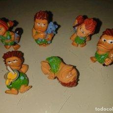 Figuras Kinder: LOTE DE 6 FIGURAS TROGLODITAS DE HUEVOS KINDER , LEER DESCRIPCION. Lote 186084161
