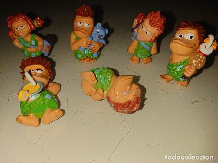 Figuras Kinder: Lote de 6 FIGURAS TROGLODITAS DE HUEVOS KINDER , LEER DESCRIPCION - Foto 2 - 186084161