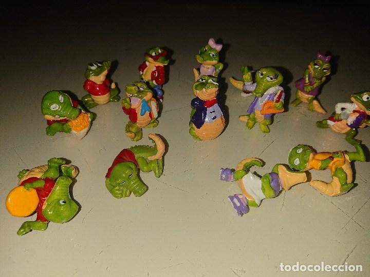 Figuras Kinder: Lote de 14 FIGURAS COCODRILOS DE HUEVOS KINDER , LEER DESCRIPCION - Foto 2 - 186084313