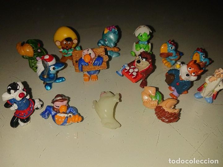 Figuras Kinder: Lote de 15 FIGURAS MIXTAS MUÑECOS DE HUEVOS KINDER , LEER DESCRIPCION - Foto 2 - 186084483