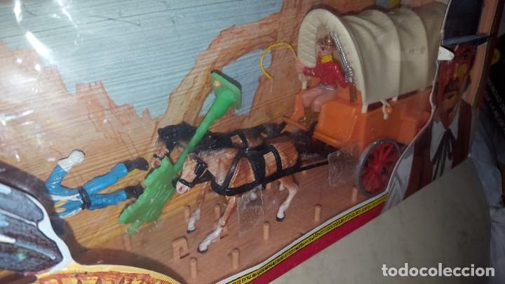 Figuras de Goma y PVC: CARAVANA - WEST - COMANSI - Foto 2 - 186093432