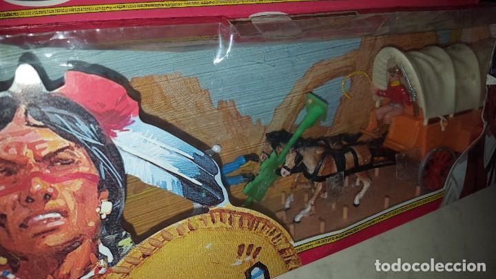 Figuras de Goma y PVC: CARAVANA - WEST - COMANSI - Foto 3 - 186093432
