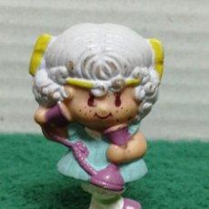 Figuras de Goma y PVC: FIGURA PVC TARTA FRESA AGC 1982 . Lote 186115921