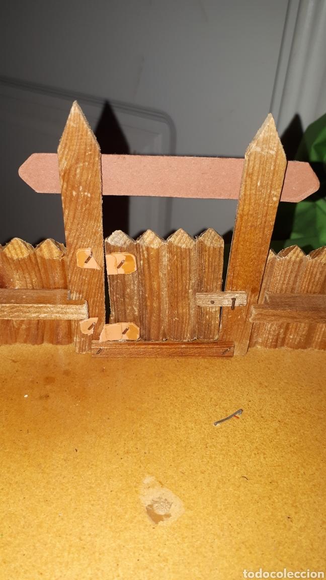 Figuras de Goma y PVC: Mini oeste FORT FEDERAL de COMANSI años 70 leer descripción - Foto 4 - 186261661