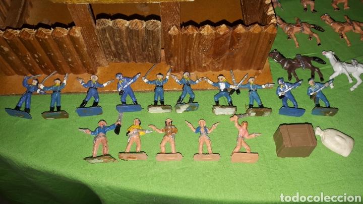 Figuras de Goma y PVC: Mini oeste FORT FEDERAL de COMANSI años 70 leer descripción - Foto 8 - 186261661