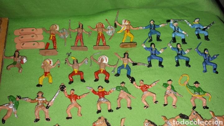 Figuras de Goma y PVC: Mini oeste FORT FEDERAL de COMANSI años 70 leer descripción - Foto 9 - 186261661