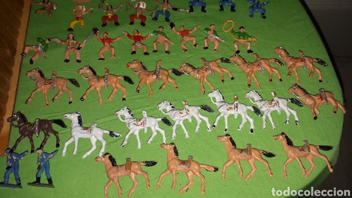 Figuras de Goma y PVC: Mini oeste FORT FEDERAL de COMANSI años 70 leer descripción - Foto 10 - 186261661