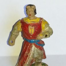 Figuras de Goma y PVC: FIGURA DE GOMA EL CAPITÁN TRUENO - JIN ESTEREOPLAST. Lote 186265178