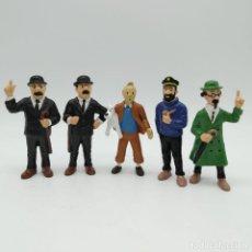 Figuras de Goma y PVC: LOTE DE FIGURAS TINTIN (LA FIGURA DE TINTIN ES DE PLASTOY). Lote 186318880