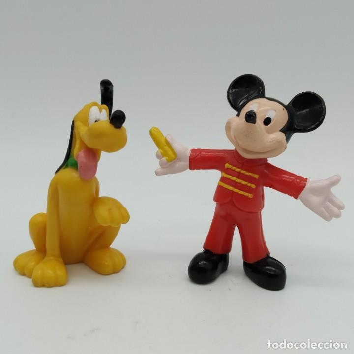 FIGURA DISNEY, MICKEY MOUSE Y PLUTO (Juguetes - Figuras de Goma y Pvc - Bully)