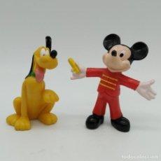 Figuras de Goma y PVC: FIGURA DISNEY, MICKEY MOUSE Y PLUTO. Lote 186331557
