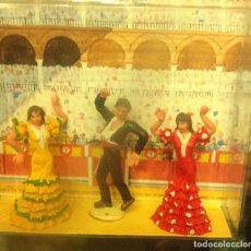 Figuras de Goma y PVC: CUADRO FLAMENCO. Lote 186359407