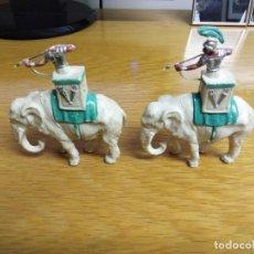 Figuras de Goma y PVC: ELEFANTES CARTAGINESES. ROJAS Y MALARET S.A. 1962. Lote 186366466