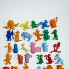 Figuras de Goma y PVC: DUNKIN ORIGINAL LOTE VARIADO WARNER Y MÁS. Lote 186367586