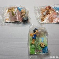 Figuras de Goma y PVC: FIGURAS EN GOMA PICAPIEDRA DE SHELL EN BLISTER SIN ABRIR LOTE 3 DISTINTAS. Lote 186455561