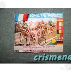 Figuras de Goma y PVC: MONTAPLEX TOUR DE FRANCE SOBRE SIN ABRIR. Lote 187110212