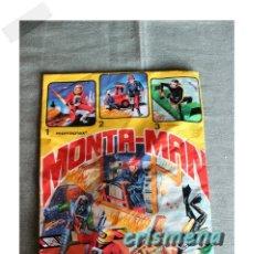 Figuras de Goma y PVC: MONTA-MAN DE MONTAPLEX TRES EN UNO REF. 1,2,3 SOBRE SIN ABRIR. Lote 187110635