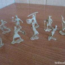 Figuras de Goma y PVC: LOTE 9 FIGURAS MEDIEVALES. VIKINGOS, ( PECH, JECSAN , REAMSA , TEIXIDO , OLIVER , COMANSI , ETC). Lote 187113842