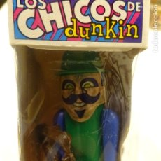Figuras de Goma y PVC: CHICO DUNKIN AÑOS 60 CON SU CAJA SIN ABRIR, ARMAS Y CHICLE. Lote 187125107