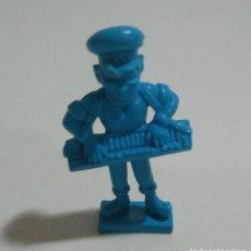 Figuras de Goma y PVC: CEREALES MUÑECO KELLOGGS PROMOCIONAL KELLOGS RICE PVC DUNKIN FIGURA BANDA MUSICA TECLADO AZUL. Lote 187183850