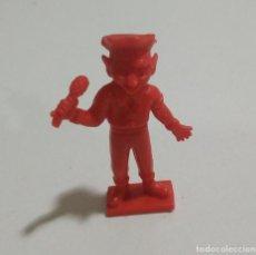 Figuras de Goma y PVC: CEREALES MUÑECO KELLOGGS PROMOCIONAL KELLOGS RICE PVC DUNKIN FIGURA BANDA MUSICA CANTANTE ROJO MICRO. Lote 187184022
