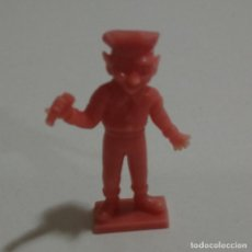 Figuras de Goma y PVC: CEREALES MUÑECO KELLOGGS PROMOCIONAL KELLOGS RICE PVC DUNKIN FIGURA BANDA MUSICA CANTANTE ROJO MICRO. Lote 187184040