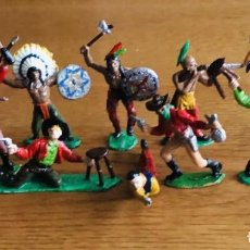 Figuras de Goma y PVC: 10 FIGURAS COMANSI 1ª EPOCA AÑOS 60.. Lote 187186427