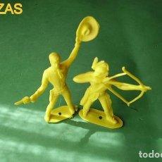 Figuras de Goma y PVC: FIGURAS Y SOLDADITOS DE MAS DE 6 CTMS - 10697. Lote 187193495