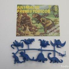 Figuras de Goma y PVC: SOBRE MONTAPLEX IMPECABLE Nº 223 ANIMALES PREHISTÓRICOS MÁS COLADA - DINOSAURIOS, DIPLODOCUS.... Lote 187369696