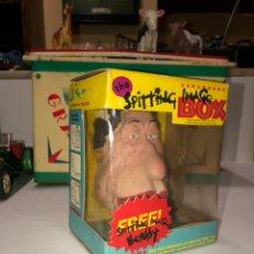 Figuras de Goma y PVC: ANTIGUA CARA FIGURA DE GOMA. SPITTING IMAGE BOX. 1987.. Lote 187421873