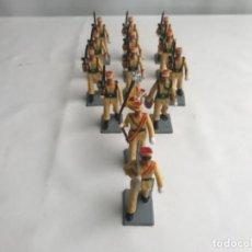 Figuras de Goma y PVC: SERÍA COMPLETA REGULARES SOLDIS . Lote 187489815