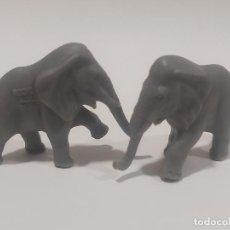 Figuras de Goma y PVC: ELEFANTES GRANDES * CIRCO LA ROCHE AUX FEES * PREMIO YOGURES AÑOS 70. Lote 187506518