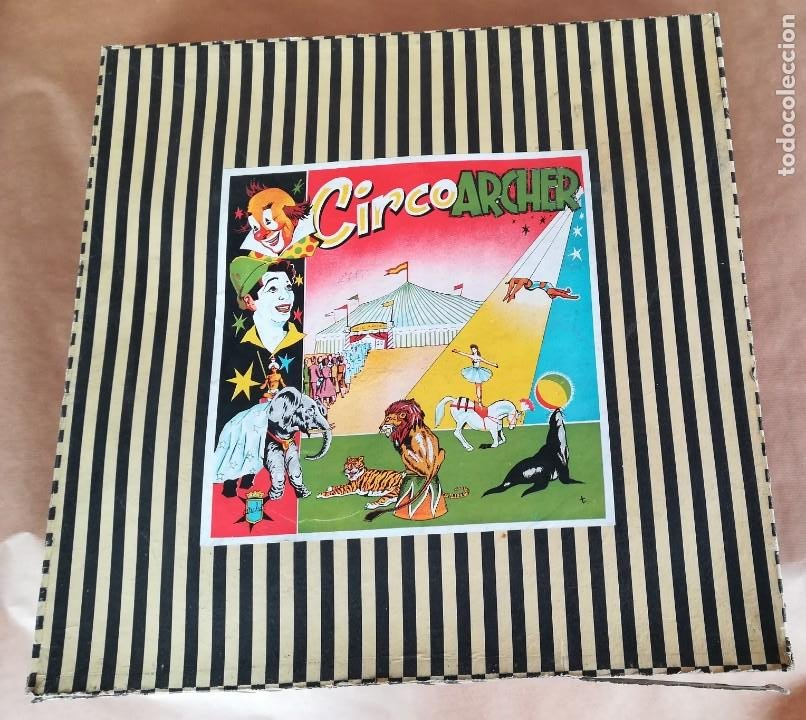 Figuras de Goma y PVC: CIRCO ARCHER PARA FIGURAS JECSAN - Foto 2 - 187542683