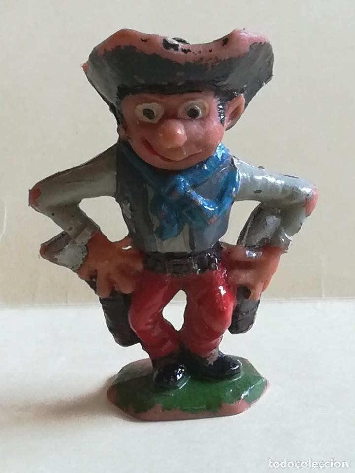 FIGURA DE PLÁSTICO JECSAN VAQUERO COWBOY BOYBIS (Juguetes - Figuras de Goma y Pvc - Jecsan)