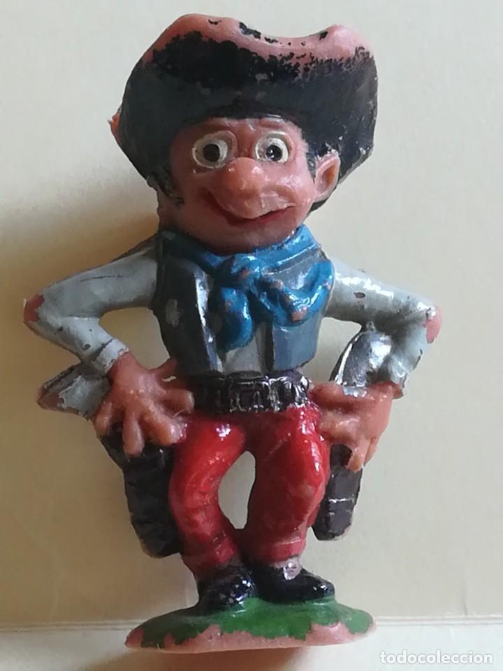 Figuras de Goma y PVC: FIGURA DE PLÁSTICO JECSAN VAQUERO COWBOY BOYBIS - Foto 5 - 187570877