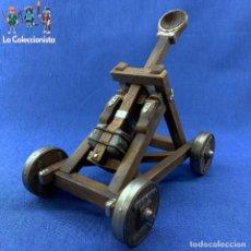 Figuras de Goma y PVC: SCHLEICH - GRAN CATAPULTA MEDIEVAL - 19 CM X 12 CM X 12 CM - REF .40192. Lote 188403522