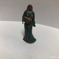 Figuras de Goma y PVC: ANTIGUA FIGURA SIGRID SERIE CAPITAN TRUENO FABRICADO POR ESTEREOPLAST EN GOMA . Lote 188489427