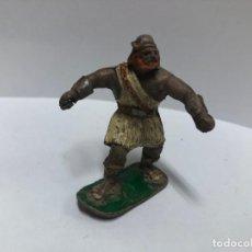 Figuras de Goma y PVC: ANTIGUA FIGURA VIKINGO SERIE CAPITAN TRUENO FABRICADO POR ESTEREOPLAST EN GOMA . Lote 188489586