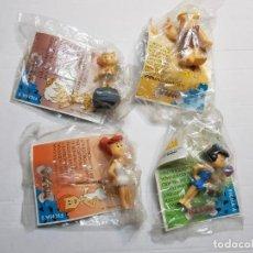 Figuras de Goma y PVC: FIGURAS DE GOMA PICAPIEDRA DE SHELL LOTE 4 DISTINTAS SIN ABRIR EN BLISTER . Lote 188514428