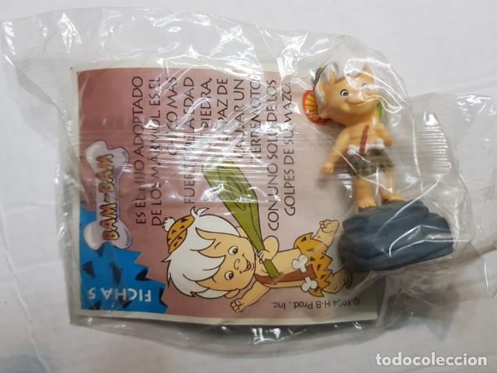 Figuras de Goma y PVC: Figuras de Goma Picapiedra de Shell lote 4 distintas sin abrir en blister - Foto 5 - 188514428