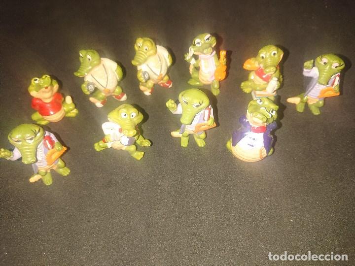 Figuras Kinder: Lote de 10 FIGURAS COCODRILOS DE HUEVOS KINDER , LEER DESCRIPCION - Foto 2 - 188523587