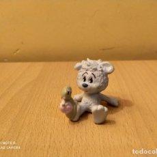 Figuras de Goma y PVC: FIGURA OSO TAPSEL & ALEXANDER SCHLEICH OSITO CARACOL PVC. Lote 188556652