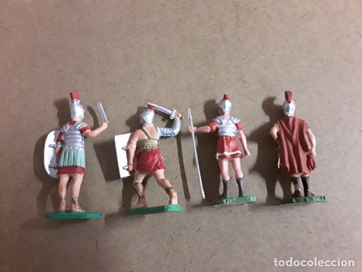 Figuras de Goma y PVC: figuras soldados gladiador goma oliver - Foto 2 - 188680775