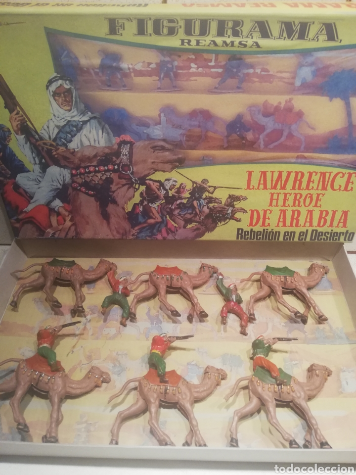 Figuras de Goma y PVC: Reamsa caja Lawrence de arabia - Foto 2 - 188743493